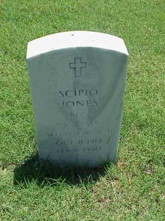 JONES (VETERAN WWII), SCIPIO - Pulaski County, Arkansas | SCIPIO JONES (VETERAN WWII) - Arkansas Gravestone Photos