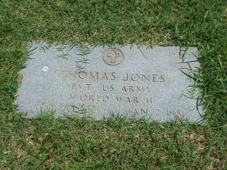 JONES (VETERAN WWII), THOMAS - Pulaski County, Arkansas | THOMAS JONES (VETERAN WWII) - Arkansas Gravestone Photos