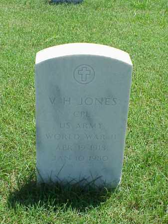 JONES (VETERAN WWII), V H - Pulaski County, Arkansas | V H JONES (VETERAN WWII) - Arkansas Gravestone Photos