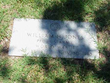 JONES (VETERAN WWII), WILLIAM H - Pulaski County, Arkansas | WILLIAM H JONES (VETERAN WWII) - Arkansas Gravestone Photos