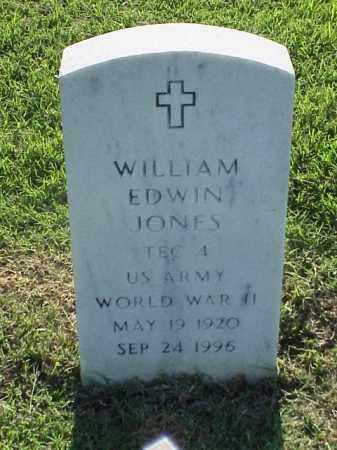 JONES (VETERAN WWII), WILLIAM EDWIN - Pulaski County, Arkansas | WILLIAM EDWIN JONES (VETERAN WWII) - Arkansas Gravestone Photos