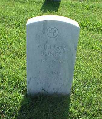 JONES (VETERAN WWII), WILLIAM - Pulaski County, Arkansas | WILLIAM JONES (VETERAN WWII) - Arkansas Gravestone Photos