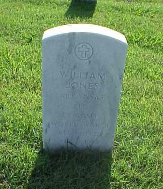 JONES (VETERAN WWII), WILLIAM - Pulaski County, Arkansas | WILLIAM JONES (VETERAN WWII) - Arkansas Gravestone Photos