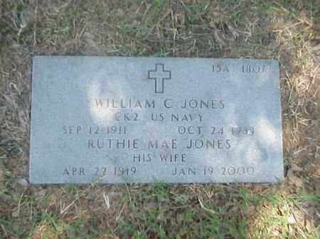 JONES, RUTHIE MAE - Pulaski County, Arkansas | RUTHIE MAE JONES - Arkansas Gravestone Photos