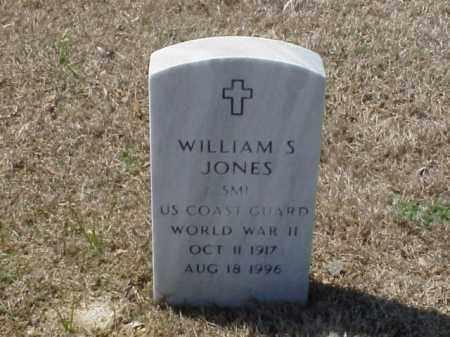 JONES (VETERAN WWII), WILLIAM S - Pulaski County, Arkansas | WILLIAM S JONES (VETERAN WWII) - Arkansas Gravestone Photos