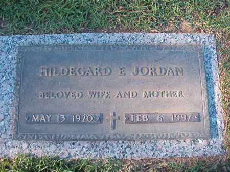JORDAN, HILDEGARD E - Pulaski County, Arkansas | HILDEGARD E JORDAN - Arkansas Gravestone Photos