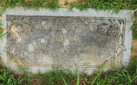 HOLLIS JORDAN, MAYME - Pulaski County, Arkansas | MAYME HOLLIS JORDAN - Arkansas Gravestone Photos