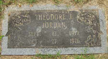 JORDAN, THEODORE J - Pulaski County, Arkansas | THEODORE J JORDAN - Arkansas Gravestone Photos