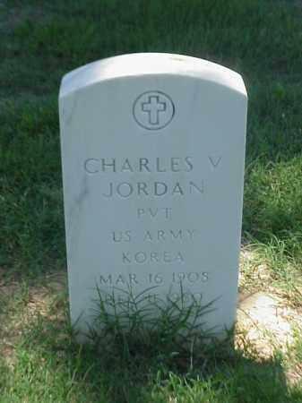 JORDAN (VETERAN KOR), CHARLES V - Pulaski County, Arkansas | CHARLES V JORDAN (VETERAN KOR) - Arkansas Gravestone Photos