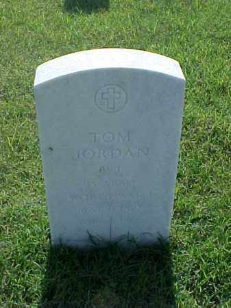 JORDAN (VETERAN WWI), TOM - Pulaski County, Arkansas | TOM JORDAN (VETERAN WWI) - Arkansas Gravestone Photos
