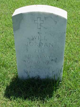 JORDAN (VETERAN WWI), WILL - Pulaski County, Arkansas | WILL JORDAN (VETERAN WWI) - Arkansas Gravestone Photos