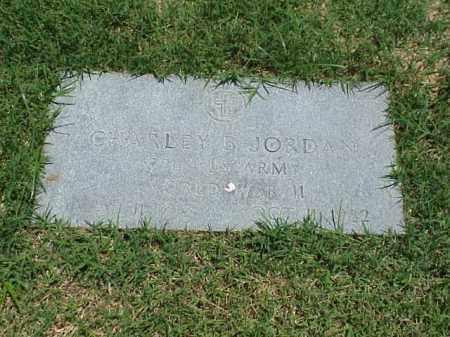 JORDAN (VETERAN WWII), CHARLEY B - Pulaski County, Arkansas | CHARLEY B JORDAN (VETERAN WWII) - Arkansas Gravestone Photos