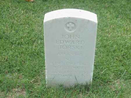 JORSKI (VETERAN WWI), JOHN EDWARD - Pulaski County, Arkansas | JOHN EDWARD JORSKI (VETERAN WWI) - Arkansas Gravestone Photos