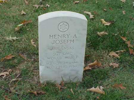 JOSEPH (VETERAN WWI), HENRY A - Pulaski County, Arkansas | HENRY A JOSEPH (VETERAN WWI) - Arkansas Gravestone Photos