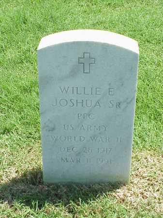 JOSHUA, SR (VETERAN WWII), WILLIE E - Pulaski County, Arkansas | WILLIE E JOSHUA, SR (VETERAN WWII) - Arkansas Gravestone Photos