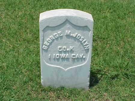 JOSLYN (VETERAN UNION), GEORGE M - Pulaski County, Arkansas | GEORGE M JOSLYN (VETERAN UNION) - Arkansas Gravestone Photos