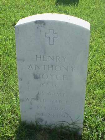 JOYCE (VETERAN 2 WARS), HENRY ANTHONY - Pulaski County, Arkansas | HENRY ANTHONY JOYCE (VETERAN 2 WARS) - Arkansas Gravestone Photos