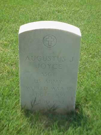 JOYCE (VETERAN WWII), AUGUSTUS J - Pulaski County, Arkansas | AUGUSTUS J JOYCE (VETERAN WWII) - Arkansas Gravestone Photos
