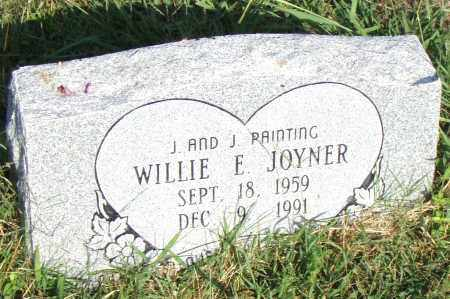 JOYNER, WILLIE E - Pulaski County, Arkansas | WILLIE E JOYNER - Arkansas Gravestone Photos
