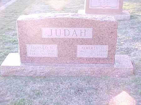 JUDAH, ALBERTA H - Pulaski County, Arkansas | ALBERTA H JUDAH - Arkansas Gravestone Photos
