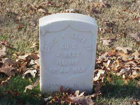 KAHA, JR (VETERAN SAW), LOUIS H - Pulaski County, Arkansas | LOUIS H KAHA, JR (VETERAN SAW) - Arkansas Gravestone Photos