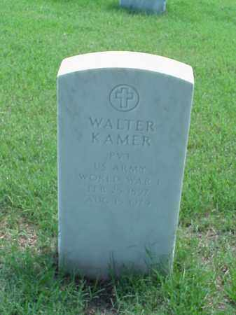 KAMER (VETERAN WWI), WALTER - Pulaski County, Arkansas | WALTER KAMER (VETERAN WWI) - Arkansas Gravestone Photos