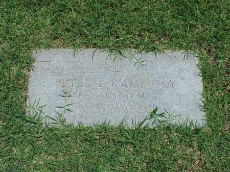 KAMINSKY (VETERAN WWII), PETER E - Pulaski County, Arkansas | PETER E KAMINSKY (VETERAN WWII) - Arkansas Gravestone Photos