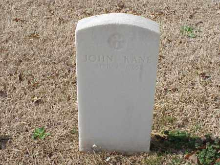 KANE (VETERAN), JOHN - Pulaski County, Arkansas | JOHN KANE (VETERAN) - Arkansas Gravestone Photos