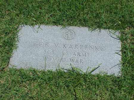 KARPENKO (VETERAN WWII), IGOR V - Pulaski County, Arkansas | IGOR V KARPENKO (VETERAN WWII) - Arkansas Gravestone Photos