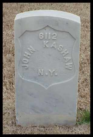 KASHAW (VETERAN UNION), JOHN - Pulaski County, Arkansas | JOHN KASHAW (VETERAN UNION) - Arkansas Gravestone Photos