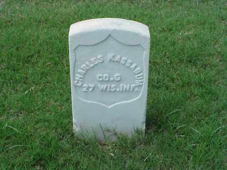 KASSABUM (VETERAN UNION), CHARLES - Pulaski County, Arkansas | CHARLES KASSABUM (VETERAN UNION) - Arkansas Gravestone Photos