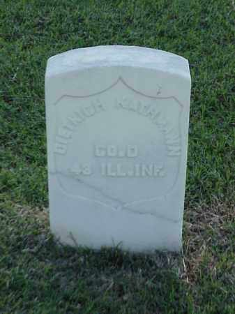 KATHMANN (VETERAN UNION), DIETRICH - Pulaski County, Arkansas | DIETRICH KATHMANN (VETERAN UNION) - Arkansas Gravestone Photos