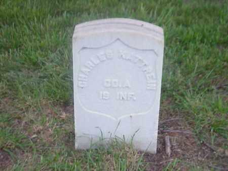 KATTREIN (VETERAN UNION), CHARLES - Pulaski County, Arkansas | CHARLES KATTREIN (VETERAN UNION) - Arkansas Gravestone Photos