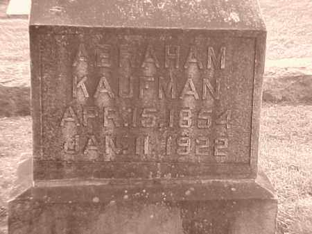 KAUFMAN, ABRAHAM - Pulaski County, Arkansas | ABRAHAM KAUFMAN - Arkansas Gravestone Photos