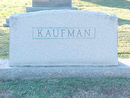 KAUFMAN FAMILY STONE,  - Pulaski County, Arkansas |  KAUFMAN FAMILY STONE - Arkansas Gravestone Photos