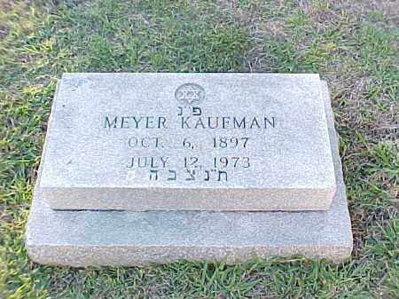 KAUFMAN, MEYER - Pulaski County, Arkansas | MEYER KAUFMAN - Arkansas Gravestone Photos
