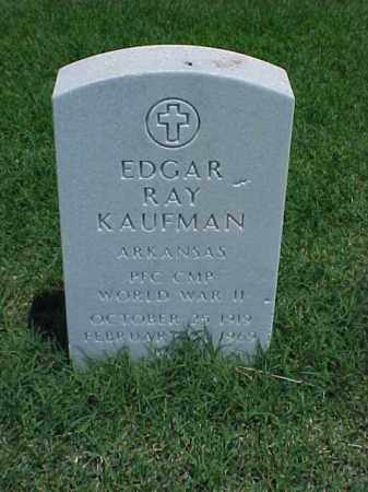 KAUFMAN (VETERAN WWII), EDGAR RAY - Pulaski County, Arkansas | EDGAR RAY KAUFMAN (VETERAN WWII) - Arkansas Gravestone Photos