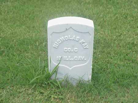 KAY (VETERAN UNION), NICHOLAS - Pulaski County, Arkansas | NICHOLAS KAY (VETERAN UNION) - Arkansas Gravestone Photos