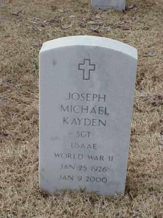 KAYDEN  (VETERAN WWII), JOSEPH MICHAEL - Pulaski County, Arkansas | JOSEPH MICHAEL KAYDEN  (VETERAN WWII) - Arkansas Gravestone Photos