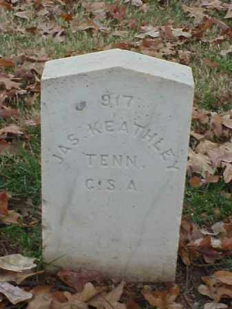 KEATHLEY (VETERAN CSA), JAMES - Pulaski County, Arkansas | JAMES KEATHLEY (VETERAN CSA) - Arkansas Gravestone Photos