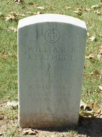 KEATHLEY (VETERAN WWII), WILLIAM R - Pulaski County, Arkansas | WILLIAM R KEATHLEY (VETERAN WWII) - Arkansas Gravestone Photos