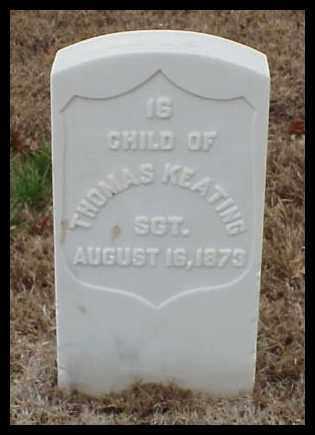 KEATING, CHILD - Pulaski County, Arkansas | CHILD KEATING - Arkansas Gravestone Photos