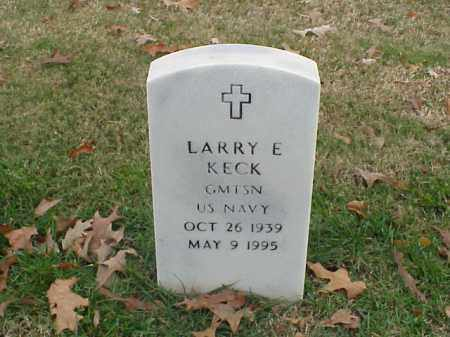 KECK  (VETERAN), LARRY E - Pulaski County, Arkansas | LARRY E KECK  (VETERAN) - Arkansas Gravestone Photos