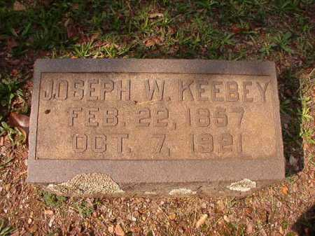 KEEBEY, JOSEPH W - Pulaski County, Arkansas | JOSEPH W KEEBEY - Arkansas Gravestone Photos
