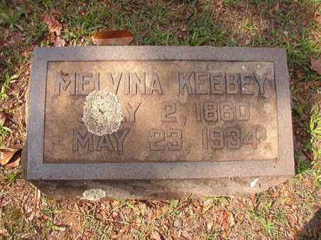KEEBEY, MELVINA - Pulaski County, Arkansas | MELVINA KEEBEY - Arkansas Gravestone Photos
