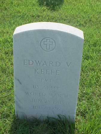 KEEFE (VETERAN WWII), EDWARD V - Pulaski County, Arkansas | EDWARD V KEEFE (VETERAN WWII) - Arkansas Gravestone Photos