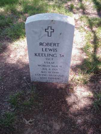 KEELING, SR (VETERAN WWII), ROBERT LEWIS - Pulaski County, Arkansas | ROBERT LEWIS KEELING, SR (VETERAN WWII) - Arkansas Gravestone Photos
