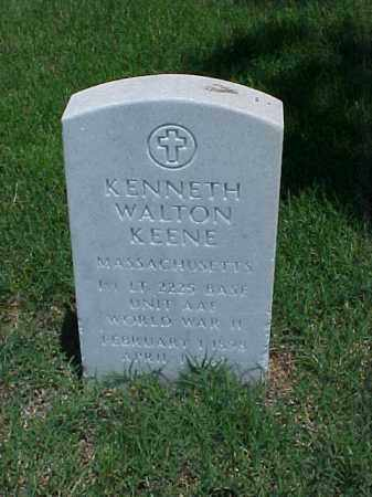 KEENE (VETERAN WWII), KENNETH WALTON - Pulaski County, Arkansas | KENNETH WALTON KEENE (VETERAN WWII) - Arkansas Gravestone Photos