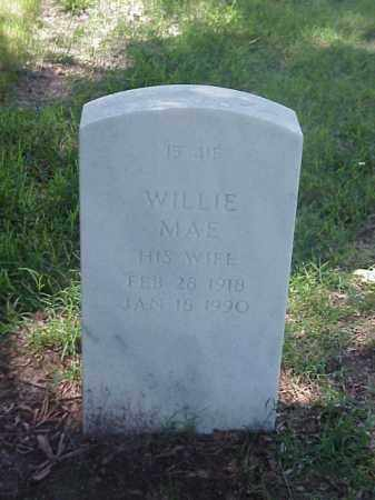 KEENER, WILLIE MAE - Pulaski County, Arkansas | WILLIE MAE KEENER - Arkansas Gravestone Photos