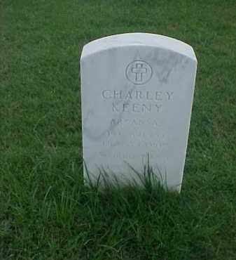 KEENY (VETERAN WWI), CHARLEY - Pulaski County, Arkansas | CHARLEY KEENY (VETERAN WWI) - Arkansas Gravestone Photos
